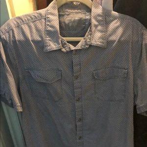 Calvin Klein short sleeve button down
